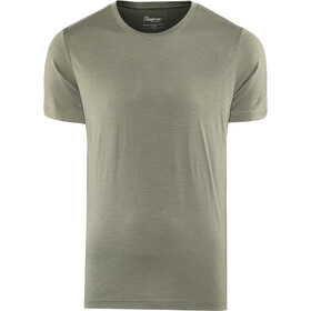 Bergans Oslo Wool T-shirt Heren, green mud
